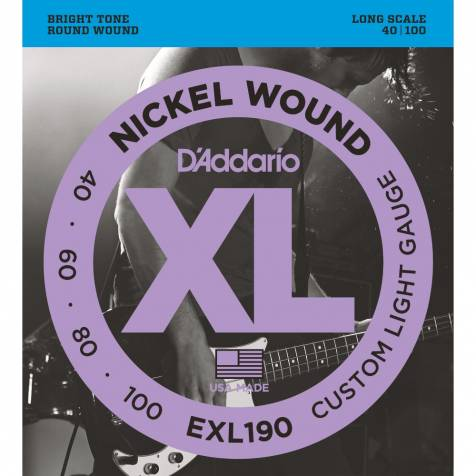 D'AddarioEXL190Electric Bass Guitar Strings