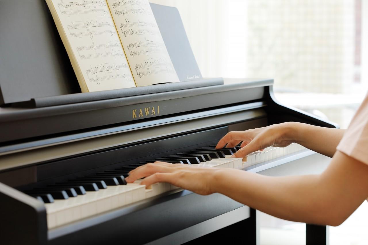 kawai concert artist series digital piano w bench ca48r rosewood talentz. Black Bedroom Furniture Sets. Home Design Ideas