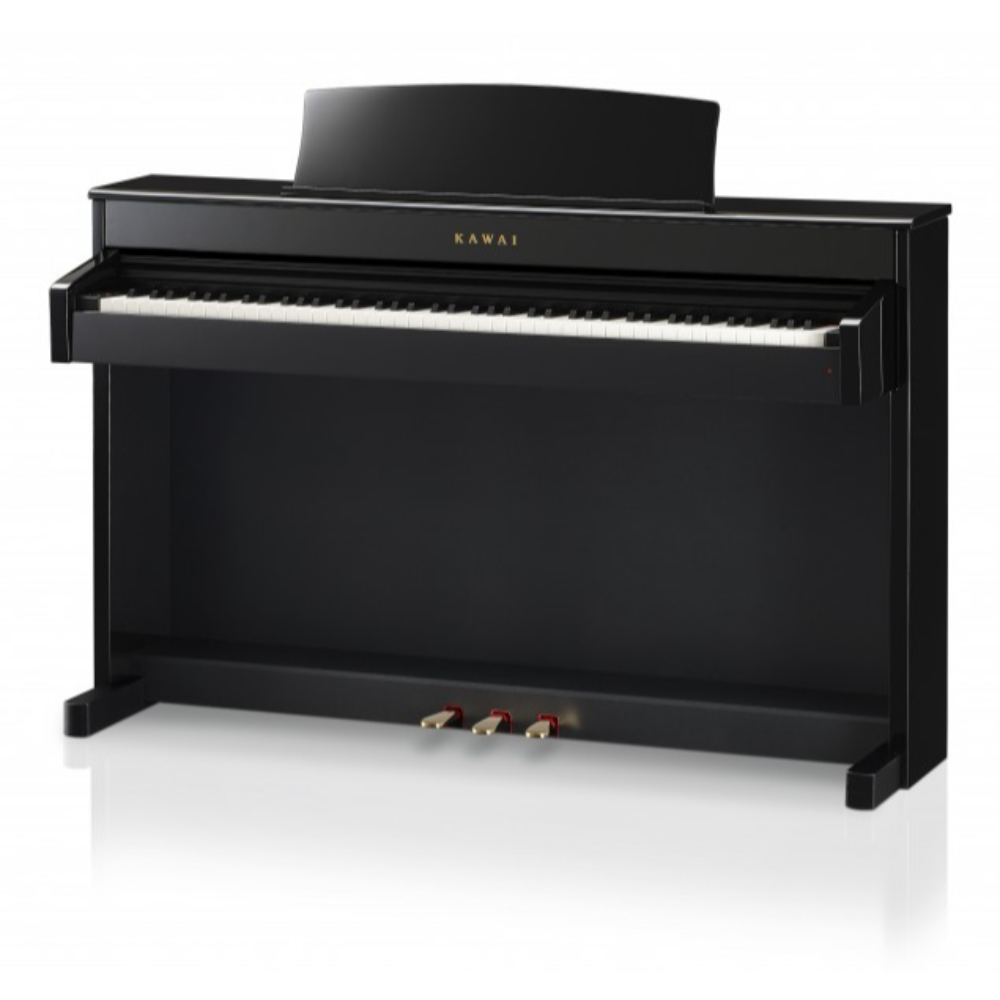 kawai classic series digital piano with bench cs4 ebony polish talentz. Black Bedroom Furniture Sets. Home Design Ideas