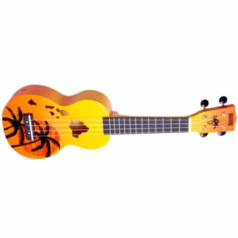 orange ukulele