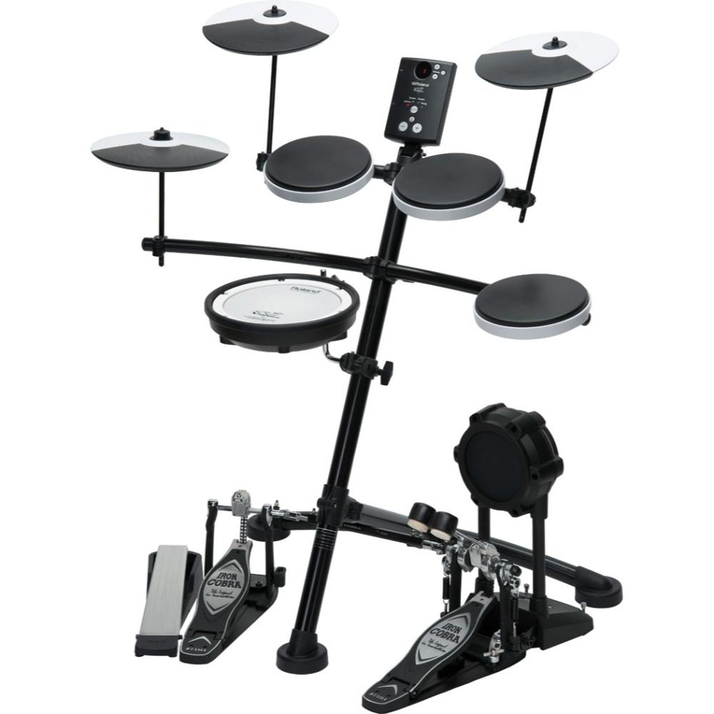 roland v drums electronic kit 5pc w mesh snare td 1kv talentz. Black Bedroom Furniture Sets. Home Design Ideas