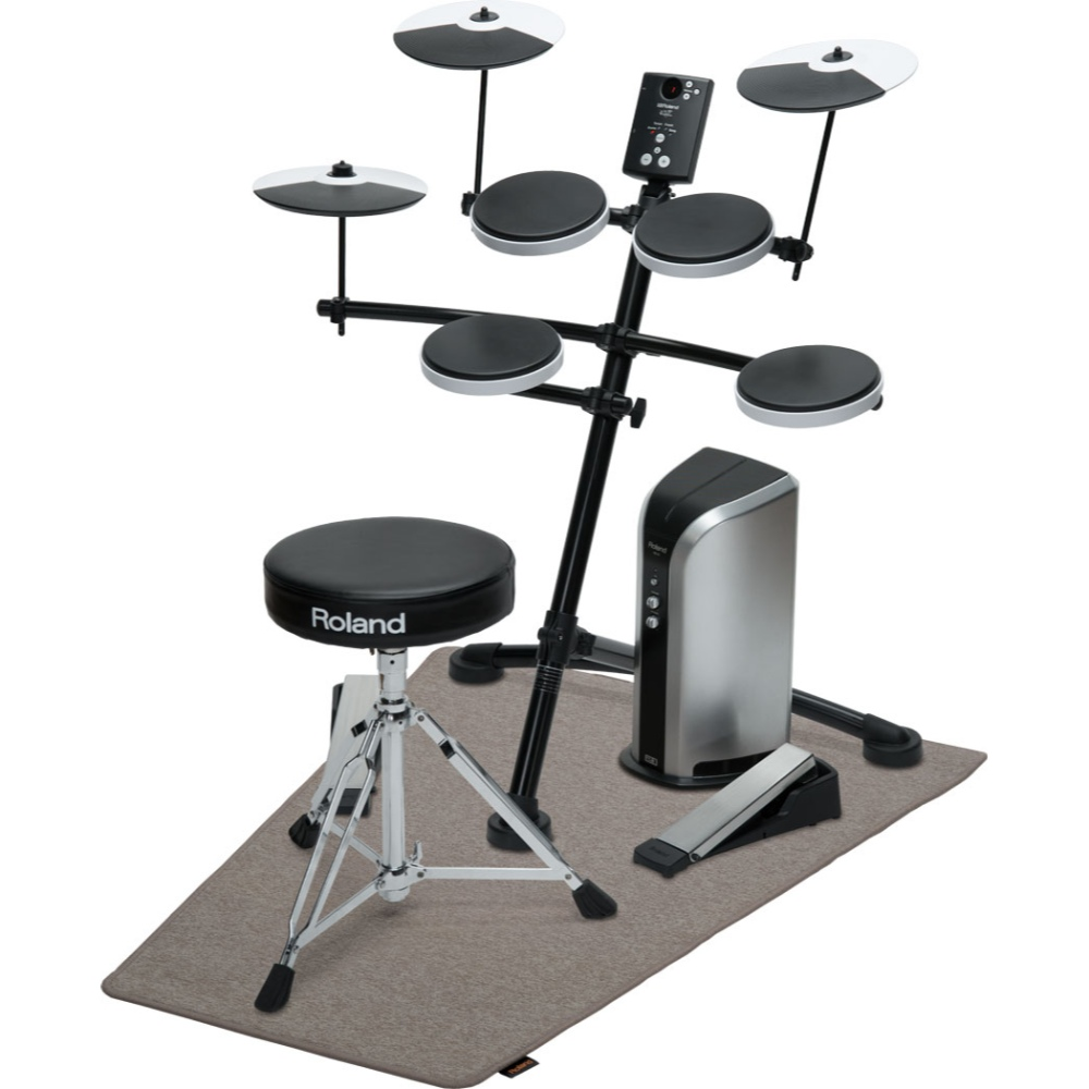 Roland TD-1K Electronic V Drum Kit With Mesh Snare And
