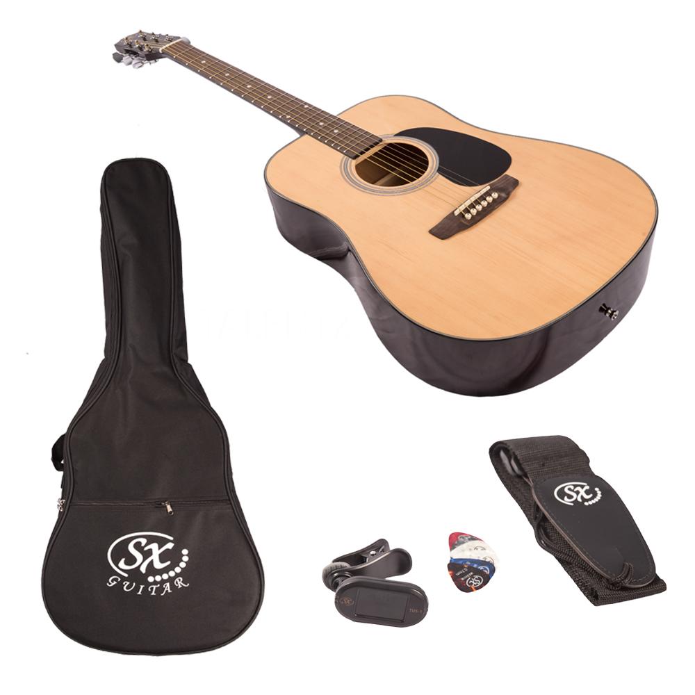 SX acoustic guitar Kit SA1-SK-NA