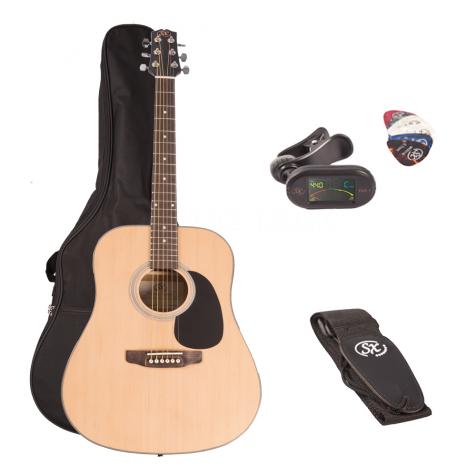 SX acoustic guitar Kit SA1-SK-NA-003