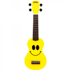 smile yellow ukulele