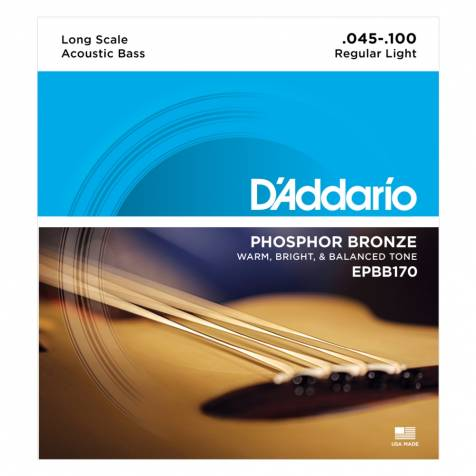 D'AddarioEPBB170Acoustic Bass Guitar Strings