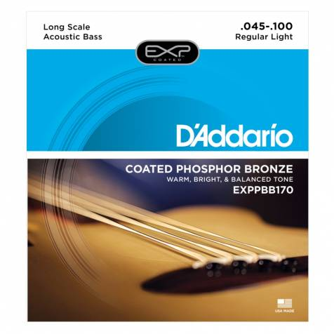 D'AddarioEXPPBB170Acoustic Bass Guitar Strings